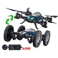 Lishitoys l6055 2.4g 2 em 1 rc voador veículo com 0.5mp câmera modo de controle remoto profissional zangão quadcopter toys carro