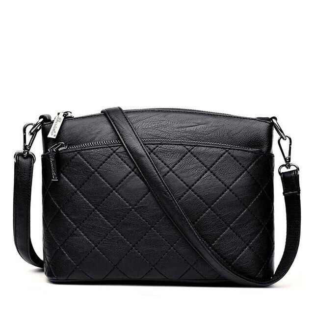 861e1137a086 2018 Fashion Ladies Shoulder Bags Handbags Women Famous Brands Luxury Leather  Messenger Bags Female Crossbody Bag