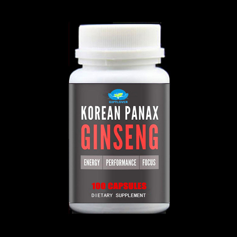 100% Pure Red Korean Panax Ginseng Root Extract,Original,Extra Strength Ginsenosides - Improves Engery - Performance - Focus green coffee bean extract 100% pure highest strength 5000mg detox colon cleanse uk premium made products vegetarian capsules one months supply