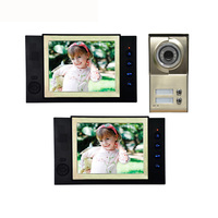 1 Set Latest Video Intercom Smart Home System 8 Inch Panel 1 Camera To 2