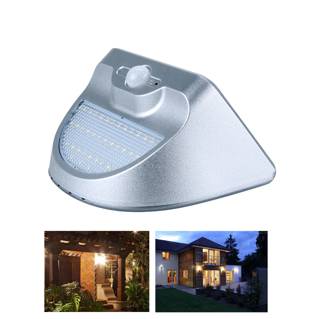 Solaire Puissance Mur Llight Rechargeable LED Solaire Lumière ...
