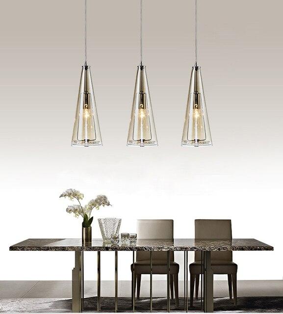 Kristall led pendelleuchten lampe lustre mit E14 edison birne ...