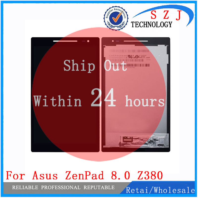 New 8 inch For Asus Zenpad 8.0 Z380 Z380KL Z380CX Z380CX Z380C P024 LCD DIsplay + Touch Screen Digitizer Assembly new 8 inch for asus memo pad 8 me180 me180a digitizer touch screen with lcd display assembly frame