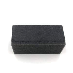 Image 1 - Esponja para recubrimiento de vidrio, almohadilla aplicadora de recubrimiento cerámico, cepillo de esponja, superficie de tela chapada, borrador de recubrimiento de cristal, Uds.
