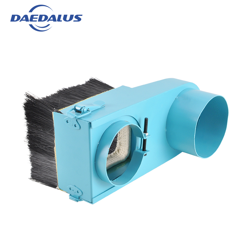 New CNC Dust Cover Collector Brush Dust Cover blue For Spindle Motor machine accessories