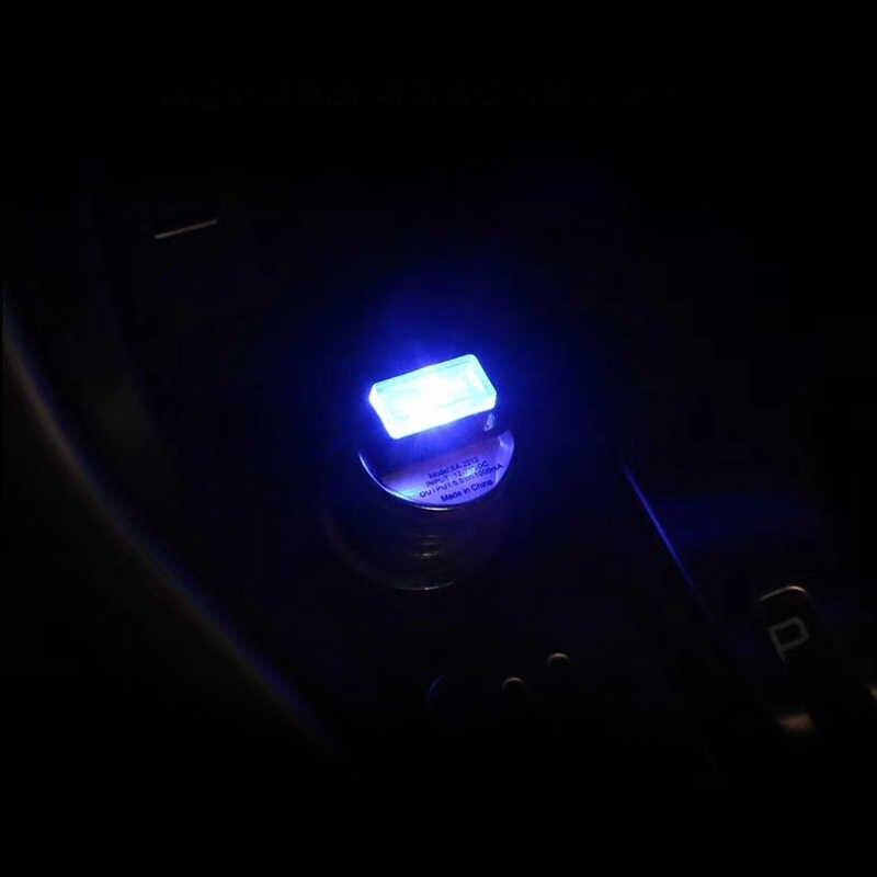 1 PC Auto Atmosfera CONDUZIU a Lâmpada Para Honda Civic Accord Carro USB Renault Megane 2 VW Golf 5 7 6 MK4 cigarro Acessórios mais leves