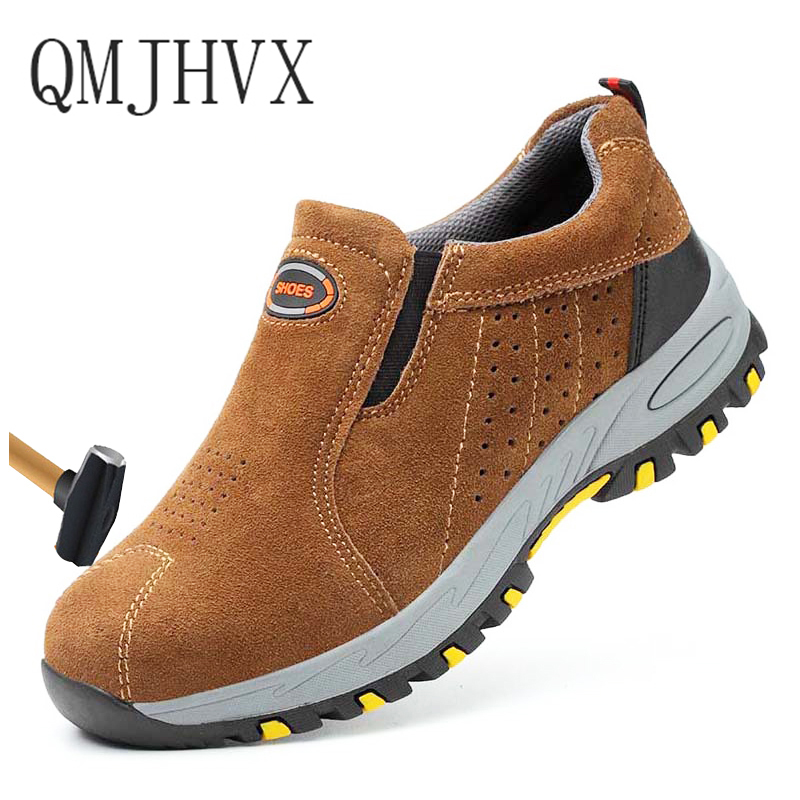 2019 Mens Steel Toe Cap Work Safety Shoes Outdoor Anti-slip Steel Puncture Proof Construction Casual sports safety Boots Unisex2019 Mens Steel Toe Cap Work Safety Shoes Outdoor Anti-slip Steel Puncture Proof Construction Casual sports safety Boots Unisex