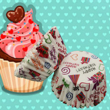 100pcs Paper flower Chocolate Cupcake Wrapper decoration Baking Muffin paper liner mold holder disposable bake cake wrap(China)