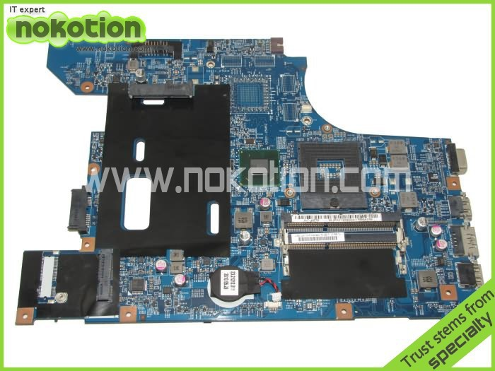 NOKOTION 48.4PA01.0SB Laptop Motherboard for lenovo B570 Z570 V570 HM65 DDR3 Mainboard Full Tested nv53 laptop motherboard 50% off sales promotion full tested mbbfd01001 48 4fm01 011