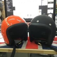 Casque moto marque japon TT & CO Thompson fibre de verre Vintage casque moto Harley casque moto sans lentille visière