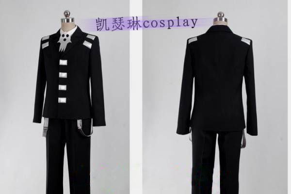 Soul Eater Death the Kid Cosplay Costume All size school uniform boys outfit-in Anime Costumes from Novelty u0026 Special Use on Aliexpress.com | Alibaba Group & Soul Eater Death the Kid Cosplay Costume All size school uniform ...