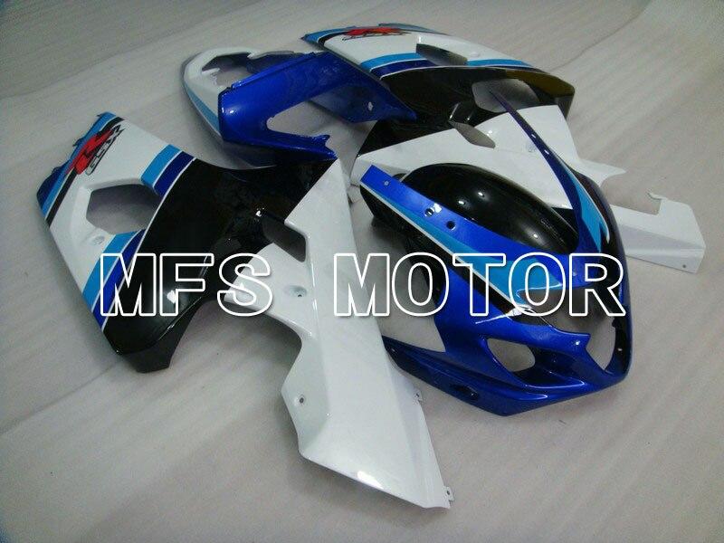 Для Suzuki системы GSX-Р 600/750 2004-2005 К4 Впрыски ABS обтекатель - другие - белый/черный корпус с голубой фара