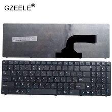 GZEELE new FOR ASUS G53Sx G53Sw G72JH K53Sj K54D K54SL N51T N51V N53SV N53JQ N53S N53NB N70 russian Laptop keyboard RU black