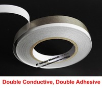 50mm 20M Double Sided Adhesive Sticky Conductive Fabric Cloth Tape For Notebook Phone Cable EMI Shielding