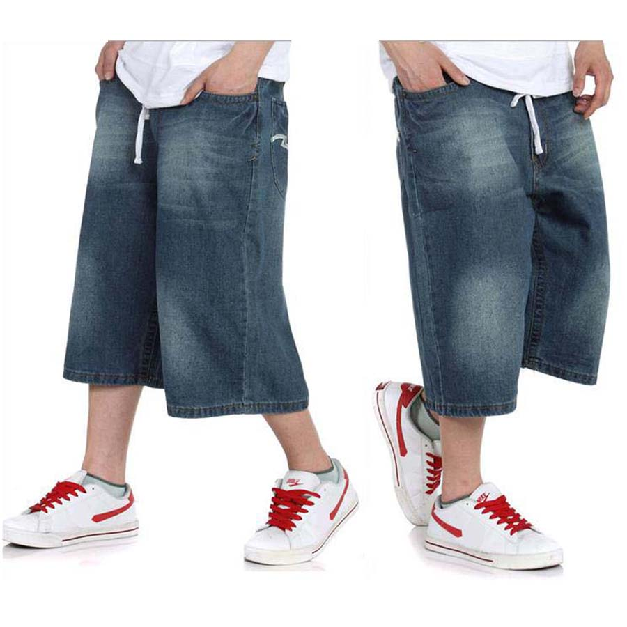 Blue Jean Shorts For Men