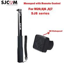 Original Sjcam Handheld Selfie Stick Monopod With Remote Controller For SJCAM M20 Sj6 Legend Sj7 Star Sports Action Camera