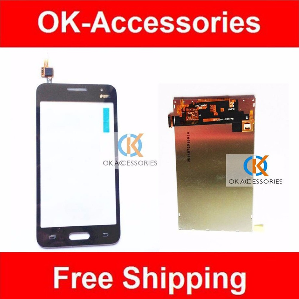 White Black Color LCD Display +Touch Screen Digitizer For Samsung Galaxy Core 2 SM-G355H G355 1PC /Lot