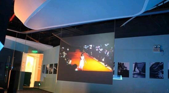 Fast shipping! 1/sqm self adhesive dark gray projection film,gray rear projection screen film for advertising screen 24 dark gray gray white holographic rear projection screen transparent rear projector film indoor hologram advertising