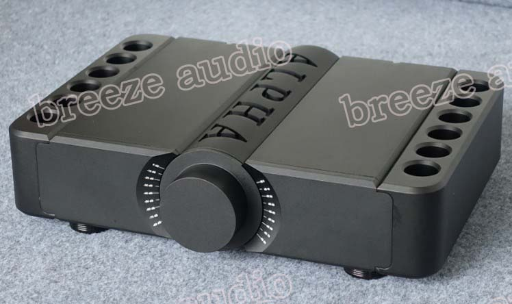 Breeze audio aluminum chassis Danmark Aavik amplifier chassis case made by CNC accurately 430*90*300
