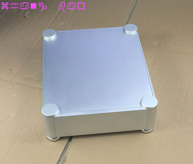 latest round aluminumal chassis power amplifier 2106T for preamp