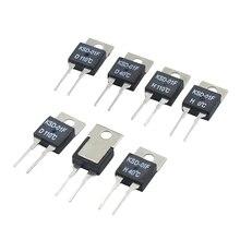 цена на 40 50 60 70 80 90 100 DegC NC Normally Closed NO Normally Open 1.5A Thermal Switch Temperature Sensor Thermostat KSD-01F JUC-31F