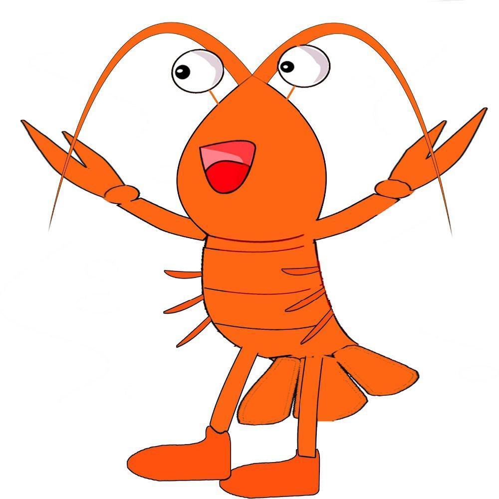 Hot Sale 2014 Adult Cute Shrimp Mascot Costume Fancy Dress