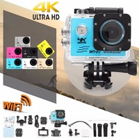 Winsoar SJ9000 4K Ultra HD 120 WiFi 2.0'' Sport Action DV Camera Camcorder Waterproof Silver Gold Blue Pink Yellow White Black