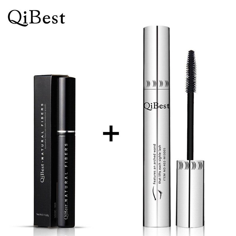 2pcs Set 3d Fiber Mascara Makeup Lash Eyelashes Natural ...
