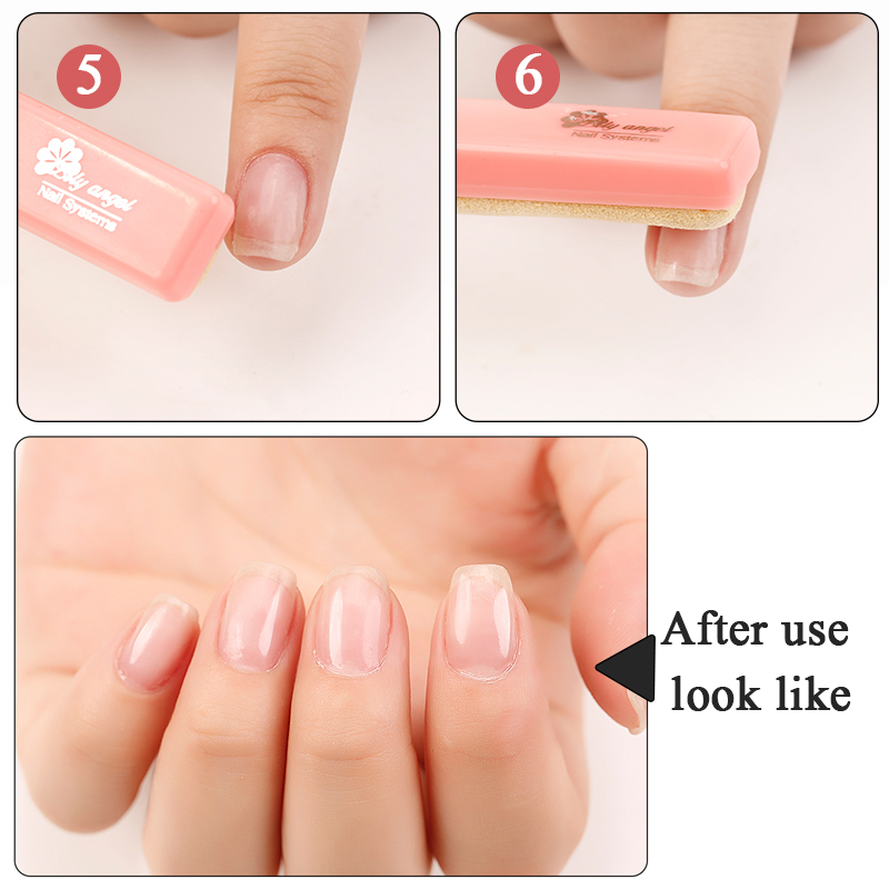 Nail Polishing Block 5pcs Set Nail Art Manicure Luster Buffing Paste