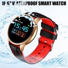 LIGE Smart Sport Bracelet Waterproof Fitness Watch Blood Pressure Heart Rate Monitor Pedometer Smart Watch Men For Android iOS недорого