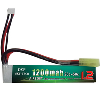 11.1V 1200mAh 25C Max 50C 3S Mini Airsoft gun RC Model Helicopter Quadcopter RC LiPo Battery Airsoft Gun Battery