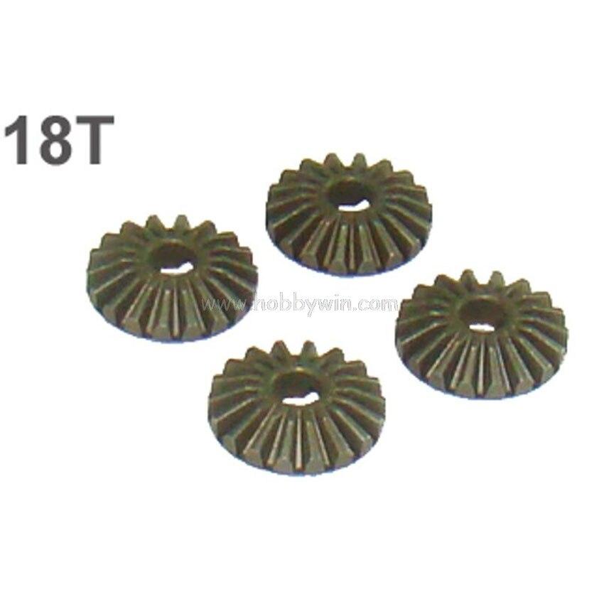 Деталь двухдискового сцепления 09302B дифференциальный Шестерни 18T X 4P для SaiSu 1/10 радиоуправляемое багги Грузовик 1937 1939