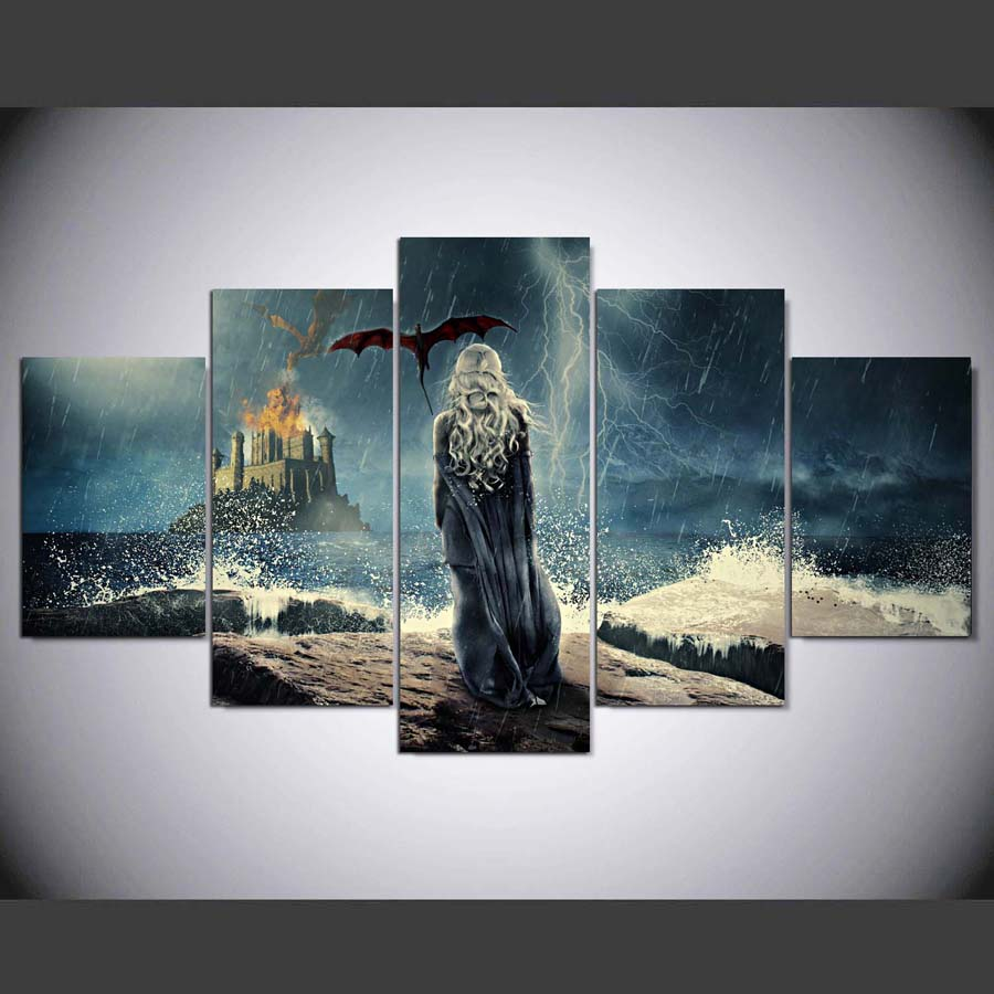 popular movie framed art buy cheap movie framed art lots from drop shipping hd printed painting painting 5pcs home decor print poster picture canvas framed art free