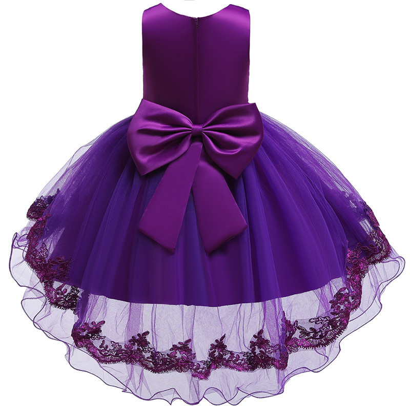 HTB1NTdtdQxz61VjSZFrq6xeLFXaI - Kids Princess Dresses For Girls Clothing Flower Party Girls Dress Elegant Wedding Dress For Girl Clothes 3 4 6 8 10 12 14 Years