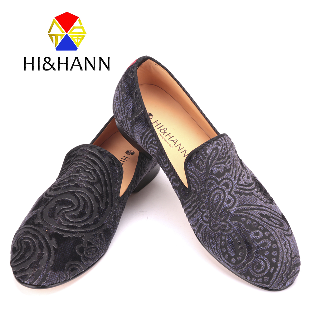 Handmade men Paisley printing velvet shoes with Genuine Leather insole and outsole Banquet and prom men's loafers male flats 2017 new arrival comfortable genuine leather bottom and insole men loafers colourful banquet men handmade shoes party male flats