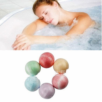 1pc  40g Rose/Lavender/Cherry Bath SPA Bomb Body wash Scrub skin face Whitening Moisture Bath Fizzer