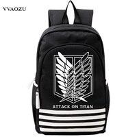 Atak na titan shingeki no kyojin skautingu legii oxford tornister japonia anime cosplay ramiona plecak torba dla studentów prezent