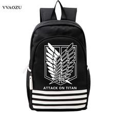 Shingeki kein Kyojin Scouting Legion Oxford Schul Angriff auf Titan Japan Anime Cosplay Rucksack Schultern Tasche für Studenten Geschenk