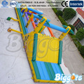Free Sea Shipping Big Cheap Inflatable Children Obstacle Course Bounce Houses For Sale
