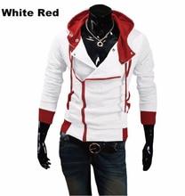 Fashion Brand Hoodie Mens Casual Sportswear Man Hoody Zipper Long sleeve Sweatshirt Slim Fit  M-6XL (Asian Size)