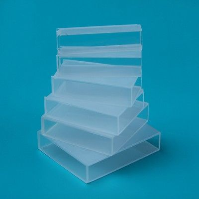 50mm Optical Glass Cuvettes Cell Cuvette For Spectrophotometer