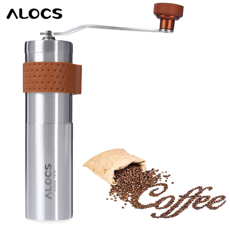 Manual Coffee Maker No 1 Review : Stainless Steel Coffee Grinder Manual Hand Coffee Maker Burr Corn Mill Grinders Portable Coffee ...