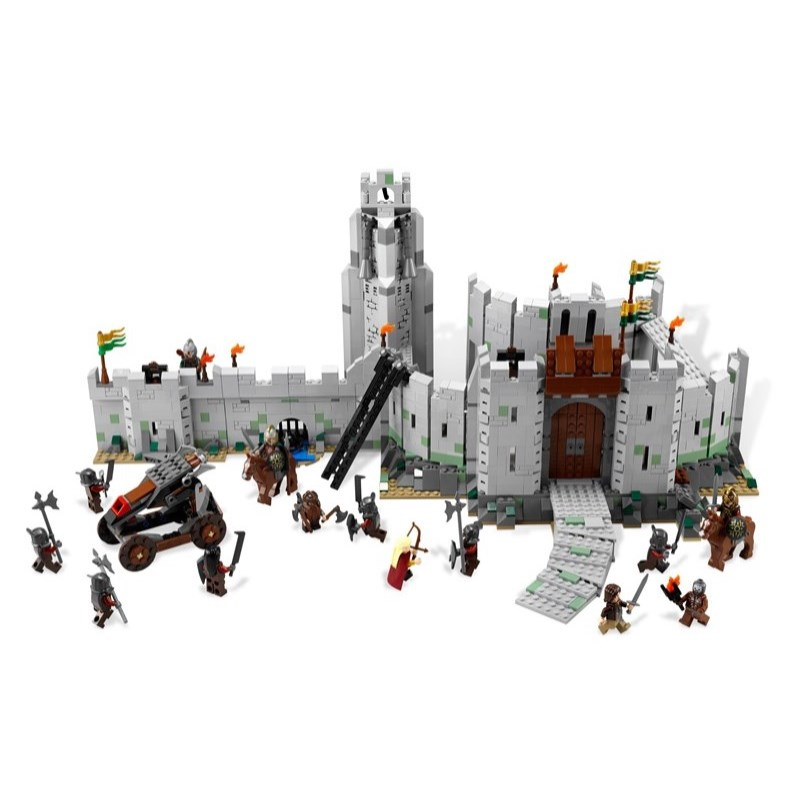 2018 Mis À Jour Seigneur des Anneaux La Bataille de de Helm Blocs de construction Jouets pour Enfants Legoing Hobbits 9474 Chiffres Garçon Cadeau