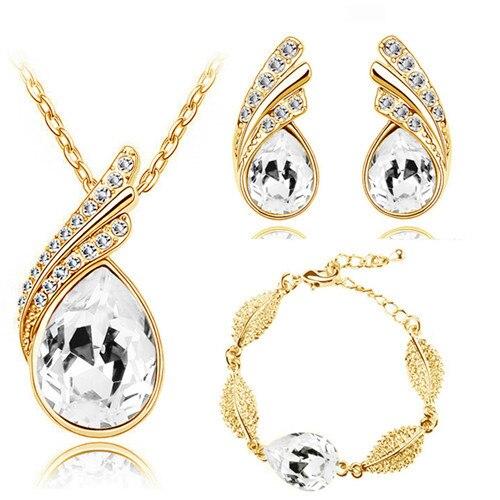 Flame Leaf Jewelry Sets...