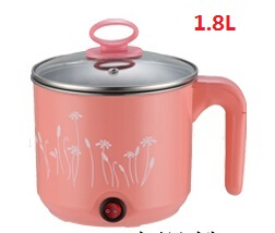 free shipping electric casserole cooking pot stainless steel simple mini boil pot