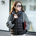2015 New Fashion Female Women's Winter Coat Jacket Sleeve Wool Knit Splicing Bat Sleeve Cape Short Female Jacket B#0050