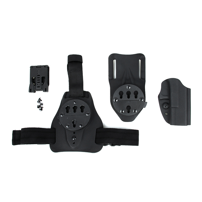 PPT QD 226 Kydex Holster Set Using for 226 Leg Plate and Waist Belt Three Purposes