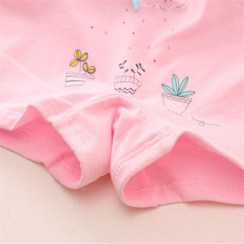 Baby Girls 4pcs/pack panties shorts Fashion Baby Underwear Cotton Panties For Girls Kids Short Briefs Children Underpants 5