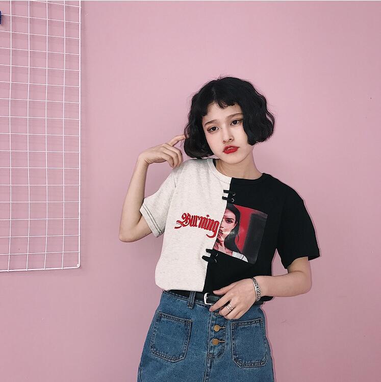 HTB1NThHQVXXXXbSXXXXq6xXFXXXE - Red/Black Burning Passion T shirt PTC 121