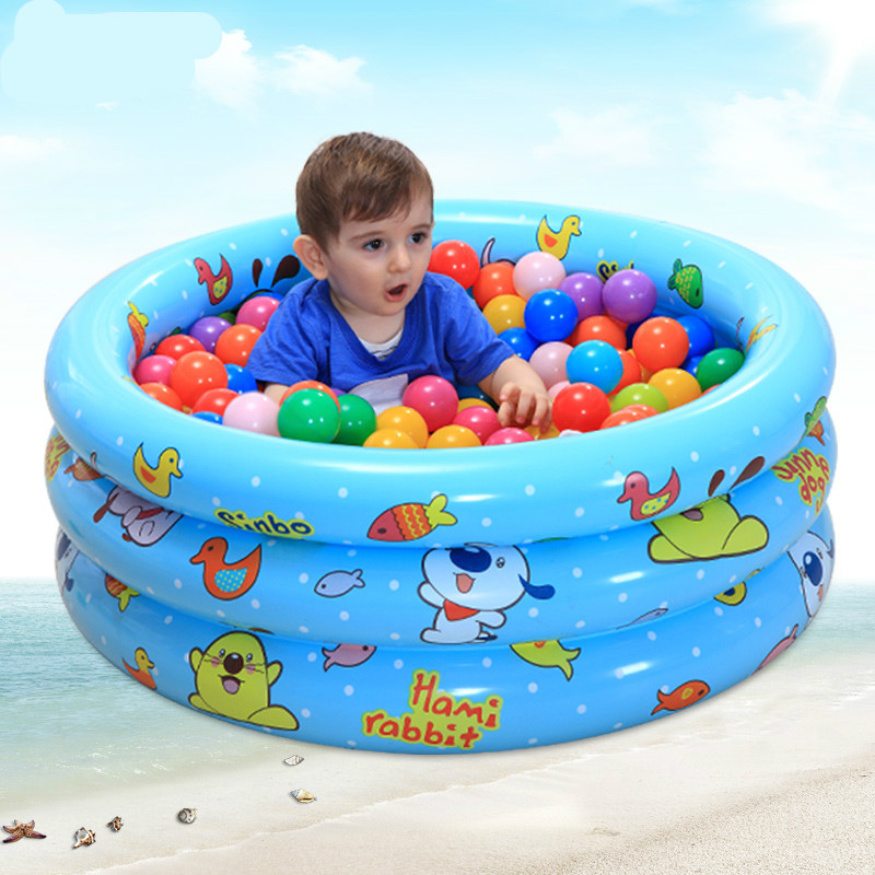 Swimming Pool Large Swimming Pool Round Barrel Children's Game Pool for New Born Baby or Under 1 Year Old thickened swimming pool folding eco friendly pvc transparent infant swimming pool children s playing game pool